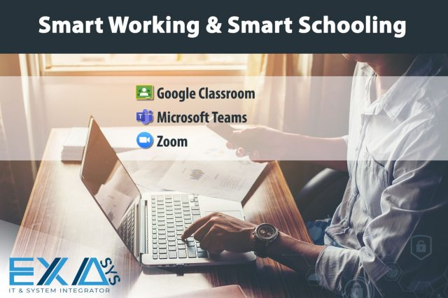 Smart Working & Smart Schooling: 3 soluzioni facili