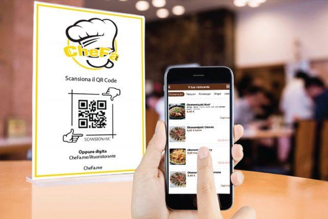 CheFa.me il menu digitale per il tuo ristorante